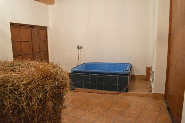 Комната для замачивания сена